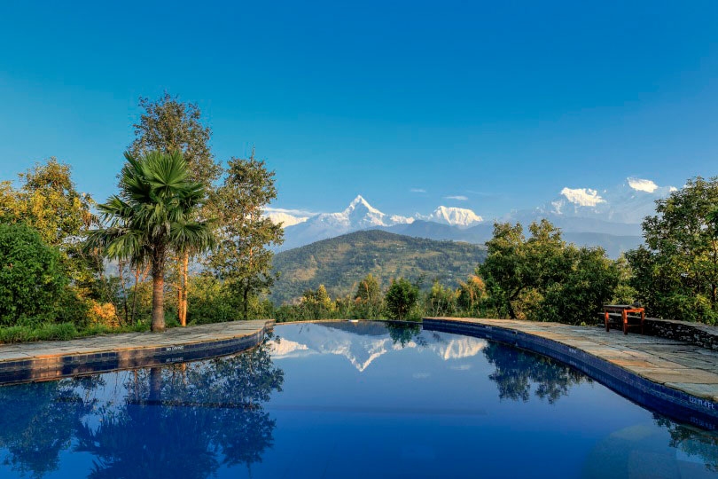 Pokhara lodge Tiger Mountain Nepal image via goodtrippers