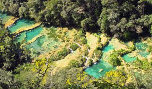 Semuc-Champey image via amazing places on earth