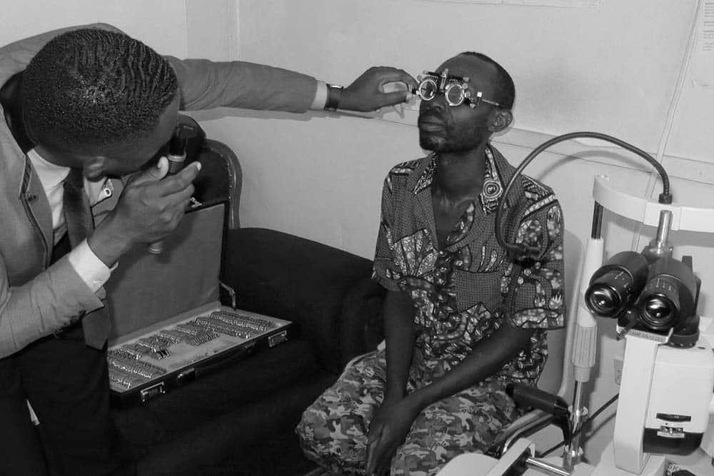 Testing patient