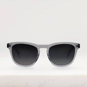eco sunglasses in grey