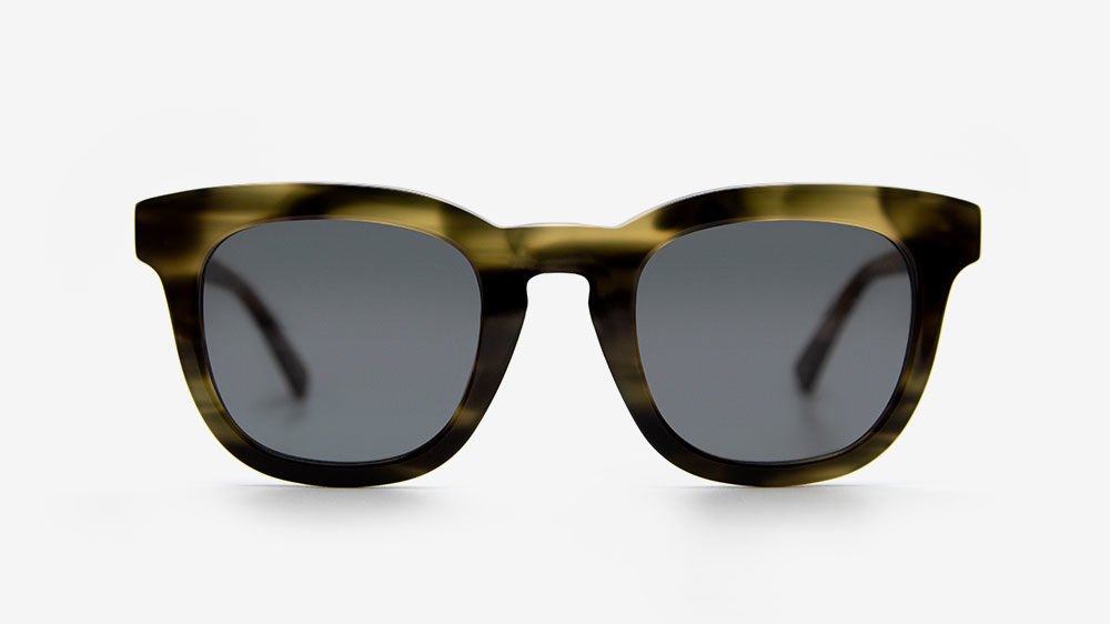 Pendo Khaki ethical sunglasses