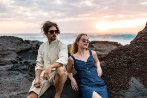sustainable sunglasses lifestyle image