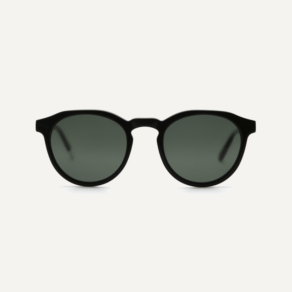 round black polarised sunglasses