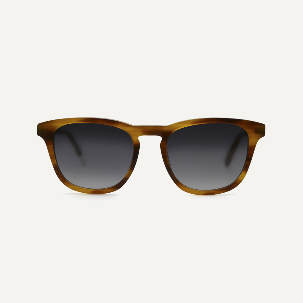 Pala tortoise shell eco friendly sunglasses with polarised lenses
