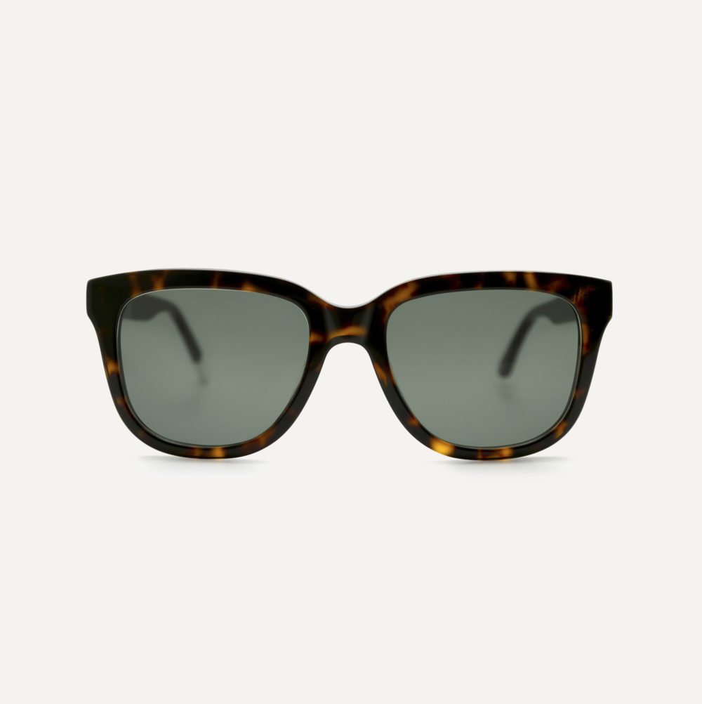 Pala square eco friendly sunglasses with polarised lenses