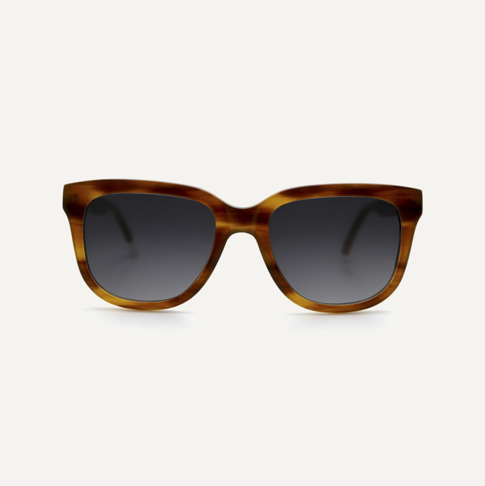 Pala tortoiseshell eco friendly sunglasses with polarised lenses