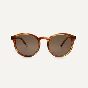 darya honey sunglasses front