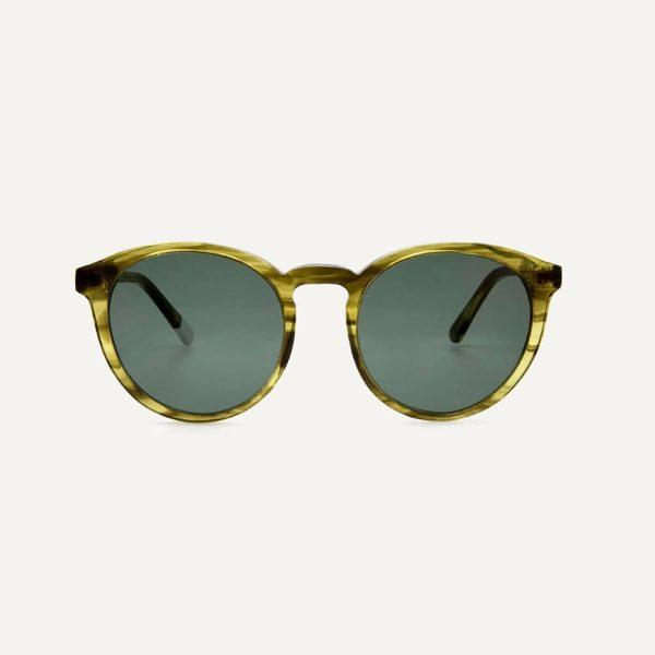 darya khaki sunglasses front cutout