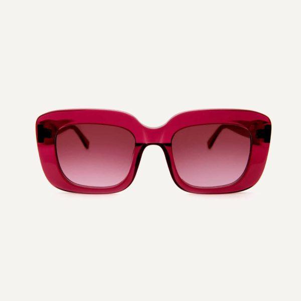 farai berry sunglasses front cutout