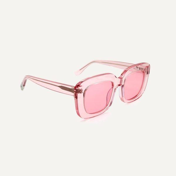 Pala farai flamingo pink sunglasses angle cutout