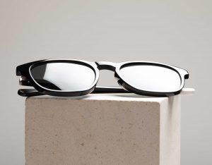 polarised sunglasses on plinth