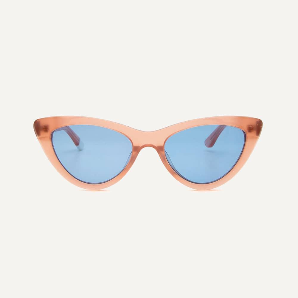 pink vintage catyeye sunglasses