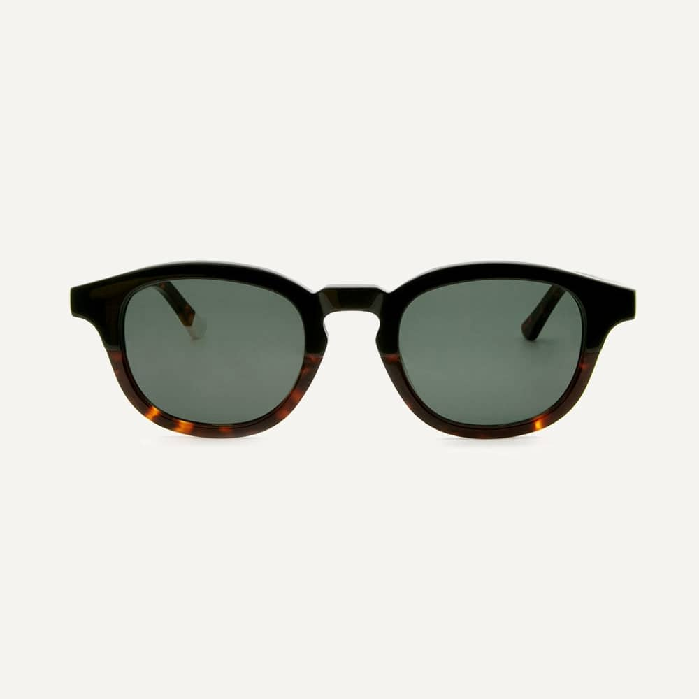 tortoiseshell round sunglasses for small face