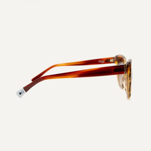 makenna caramel sunglasses side cutout