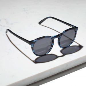 Pala round blue sunglasses