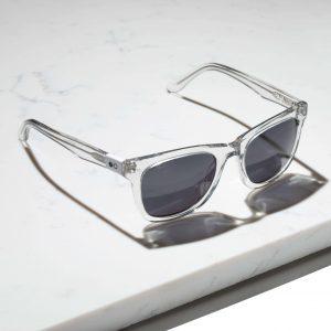 transparent sqaure sunglasses