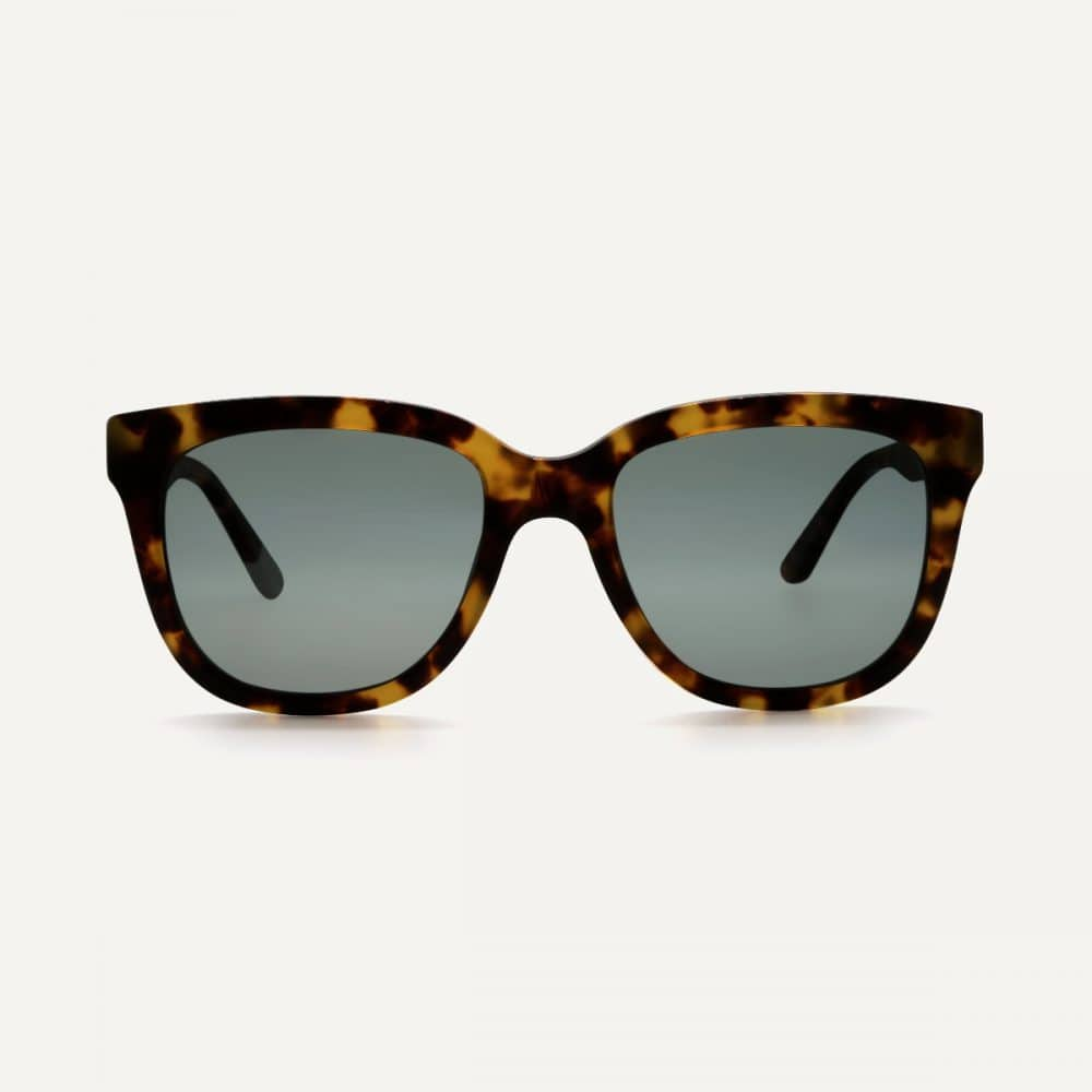 Pala Vrede maple sustainable sunglasses front