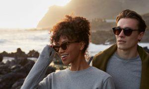 man an women wearing Pala sunglasses