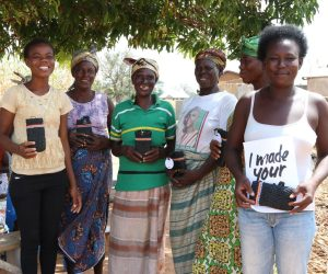 weaving community from Ghana
