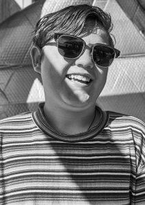 picture of boy wearing Pala sunglasses